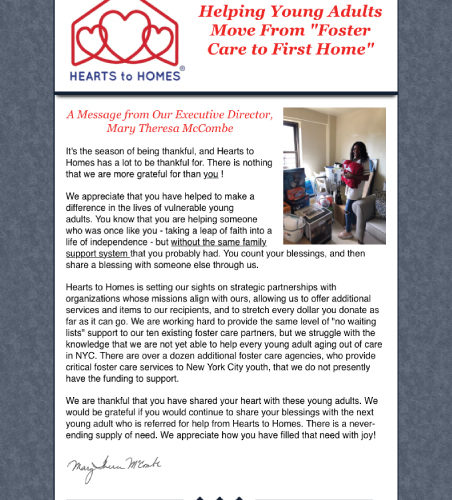 """Helping Young Adults Move from """"Foster Care to First Home"""""""